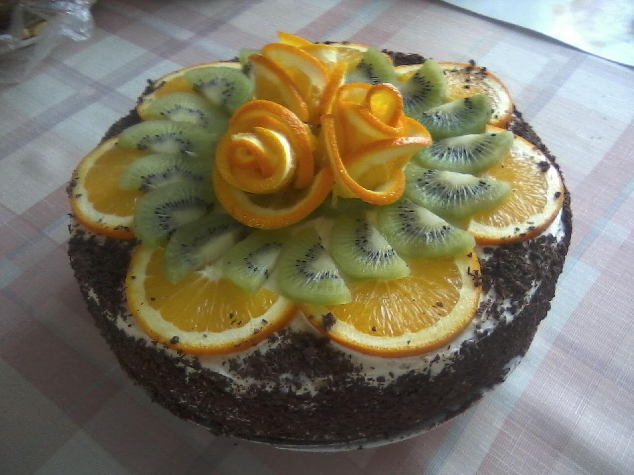 Торт 'От мамыча'. Блиц: торт
