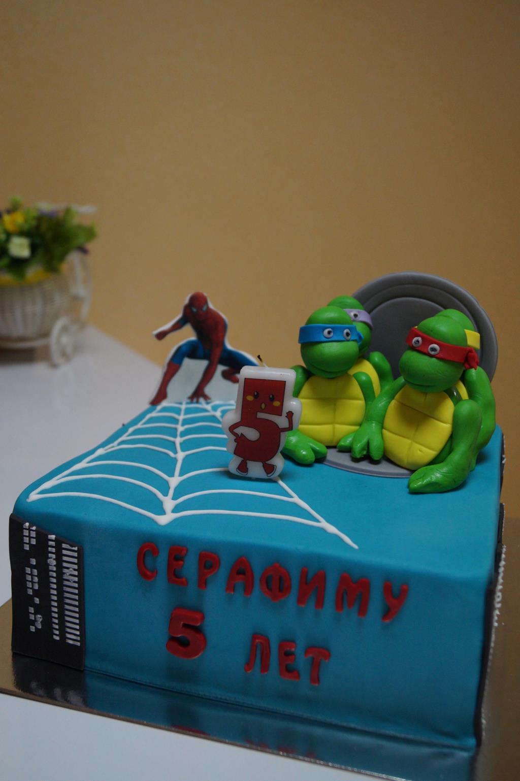 торт для супер героя. Блиц: торт