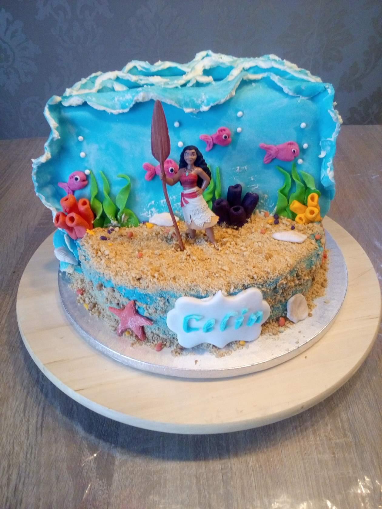Морские волны. Блиц: торт