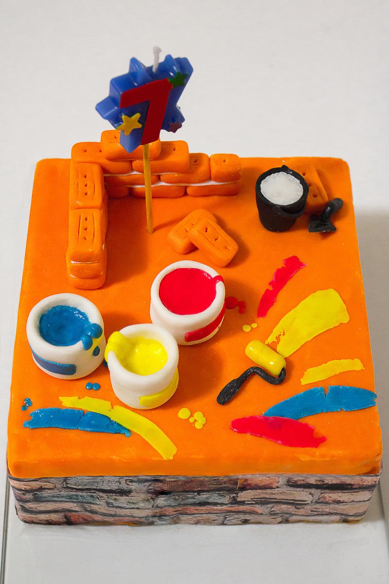 Торт для юного строителя. Блиц: торт