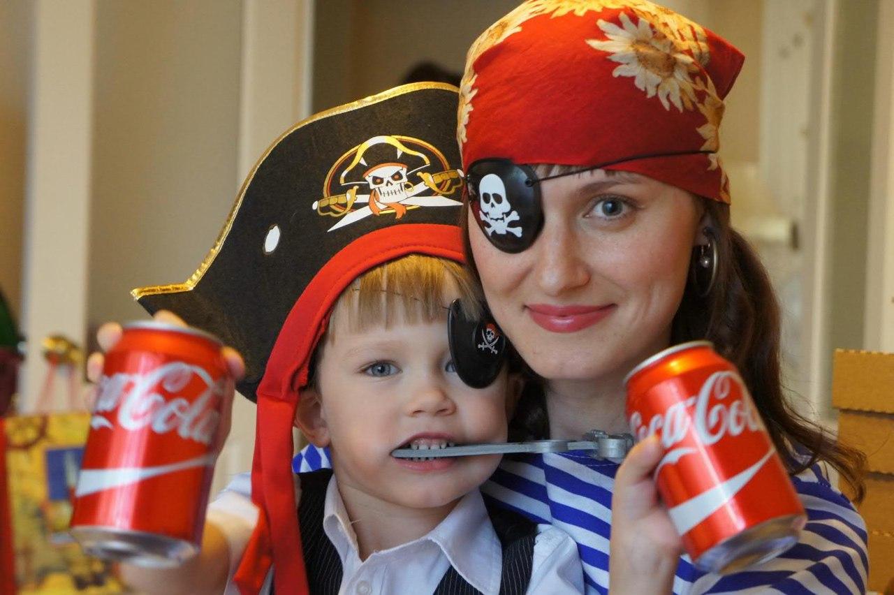 Ради сына станешь пиратом . Поздравление с Днем Рождения