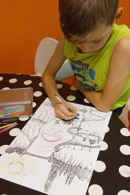 Юный художник-архитектор.... Умелые руки