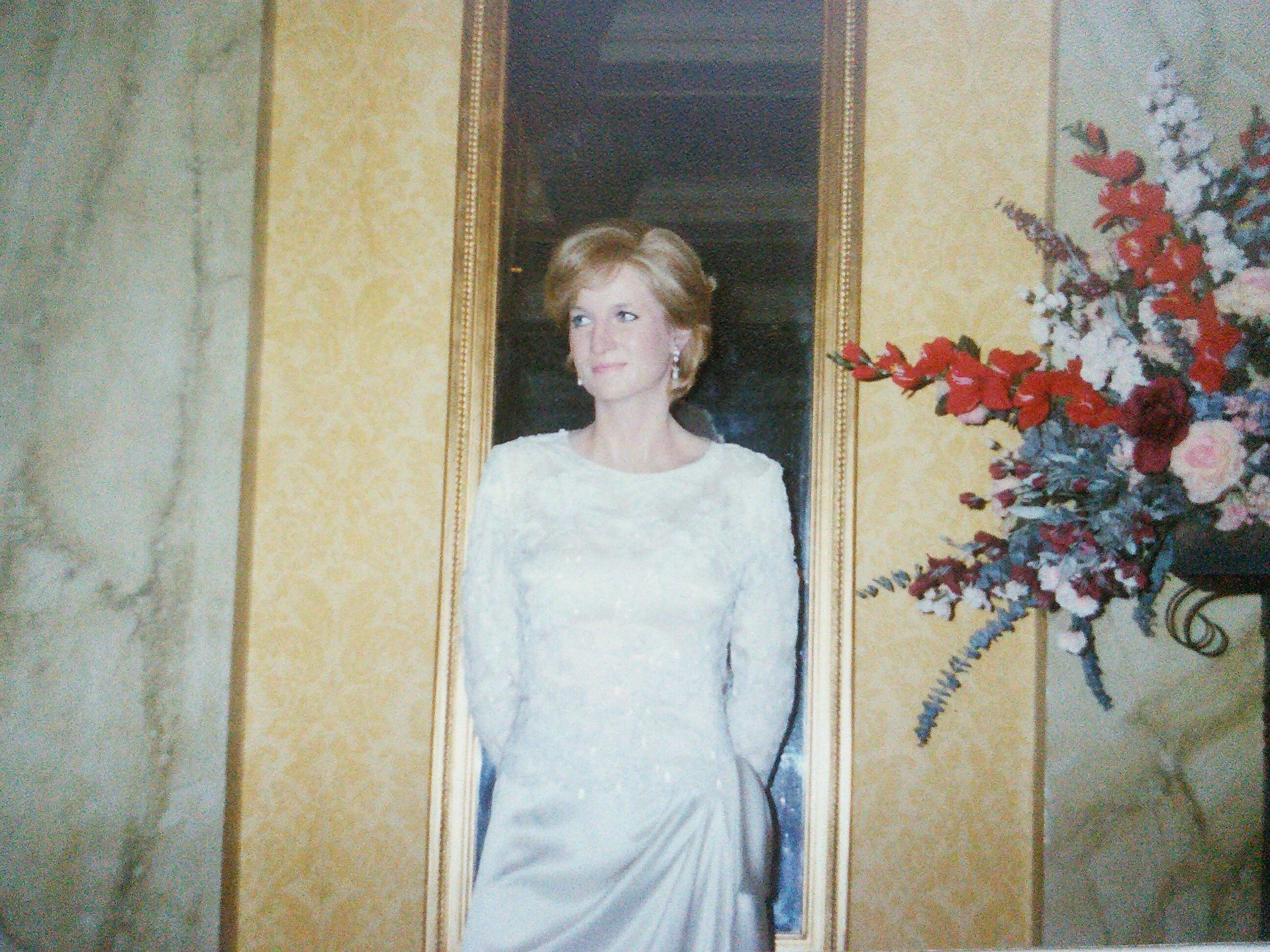Восковая принцесса Диана, музей мадам Тюссо в Лонд. Блиц: музейный экспонат