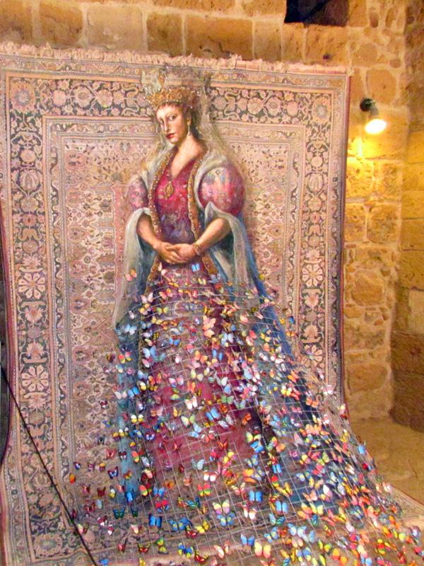 Девушка с Кипра (г. Пафос). Блиц: музейный экспонат