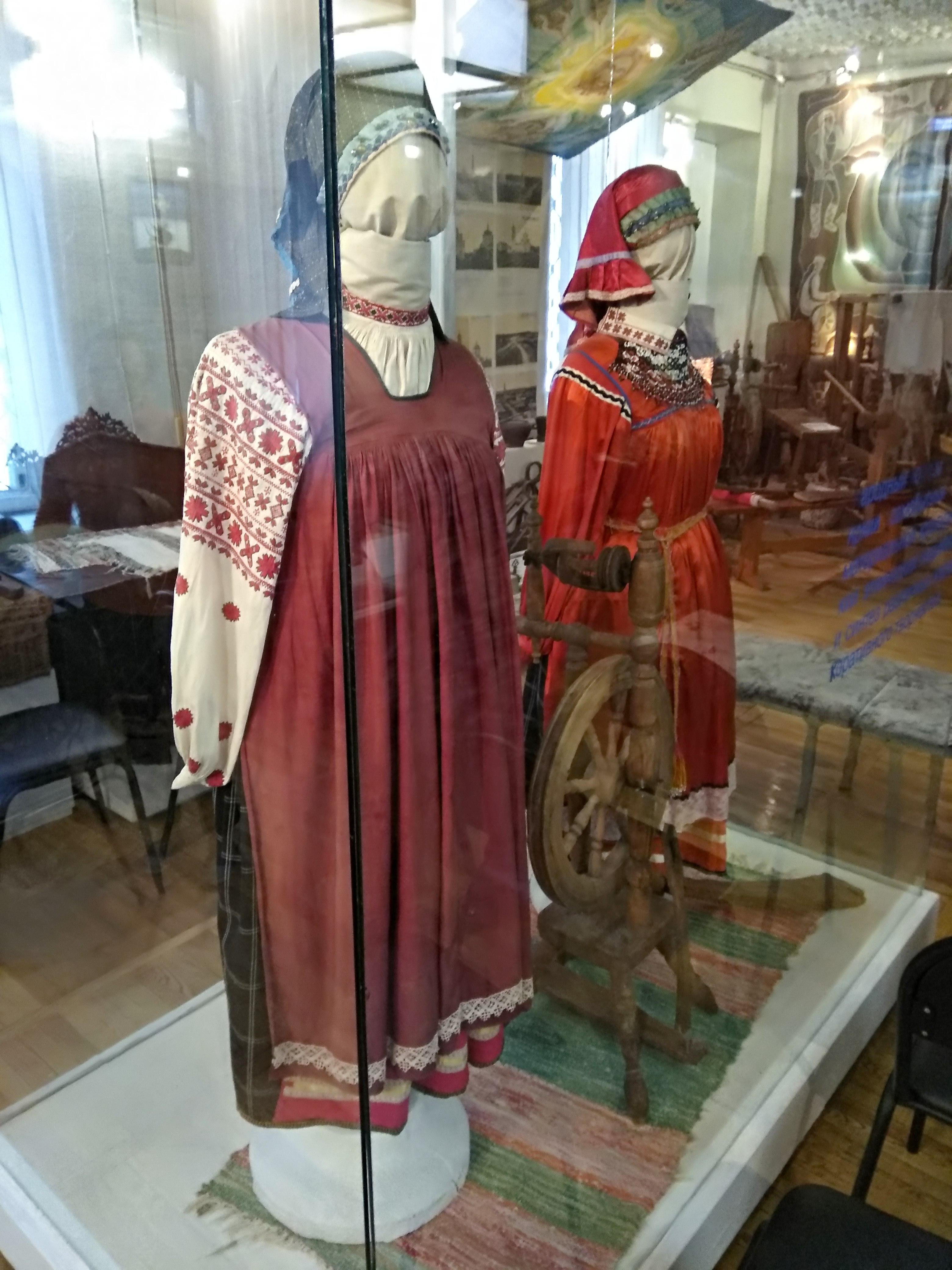 Женский наряд. Блиц: музейный экспонат