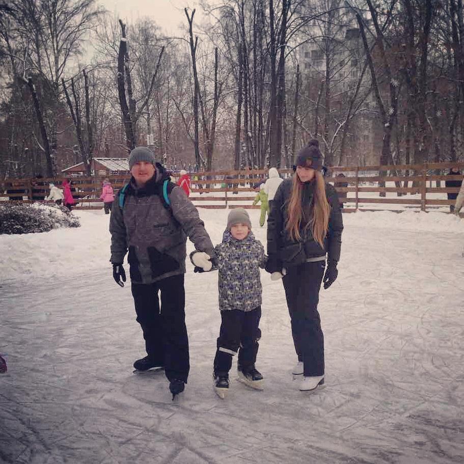 Активно отдыхаем всей семьей!. Зимние забавы