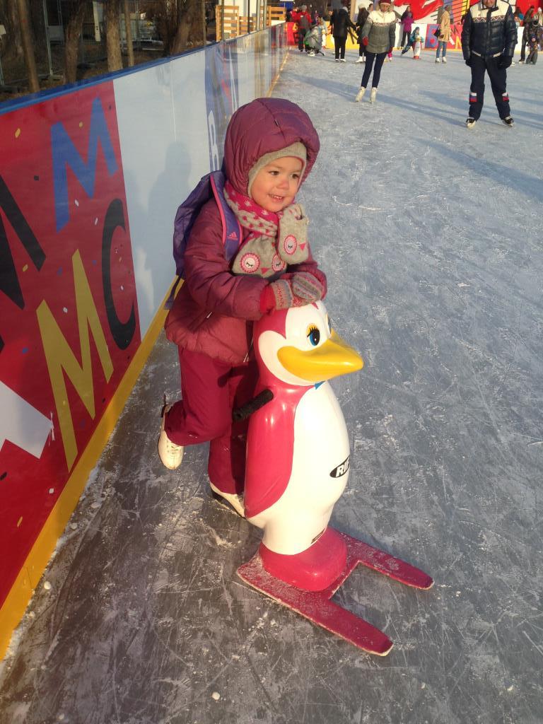 Ребята-пингвинята. Зимние забавы