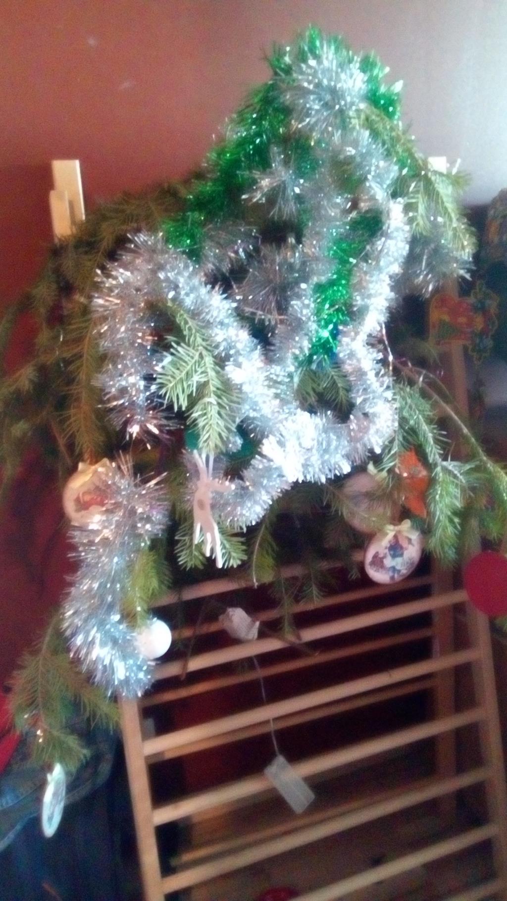 елочка на скорую руку :). Блиц: новогодняя елка