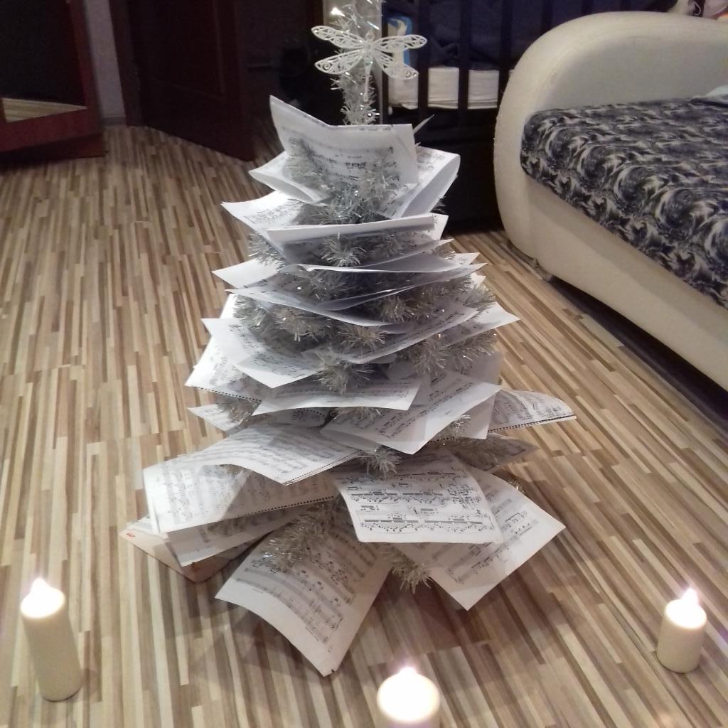 моя ното-ёлочка). Блиц: новогодняя елка
