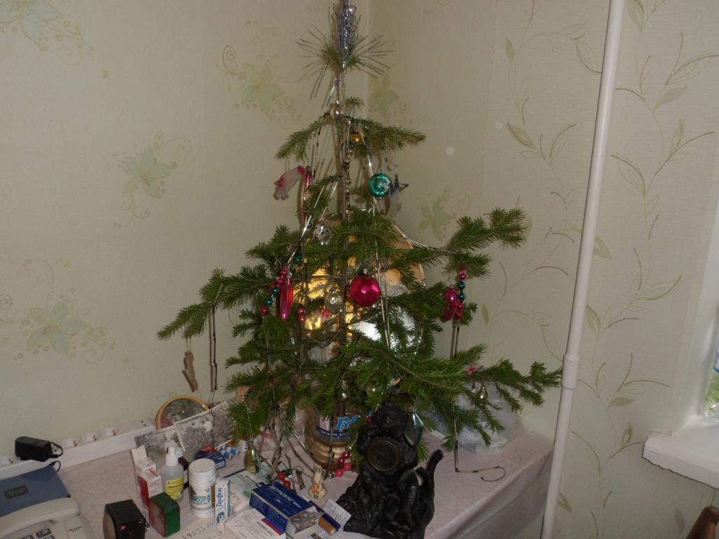 Бабушкина ёлка! Игрушки из далёкого детства! . Блиц: новогодняя елка