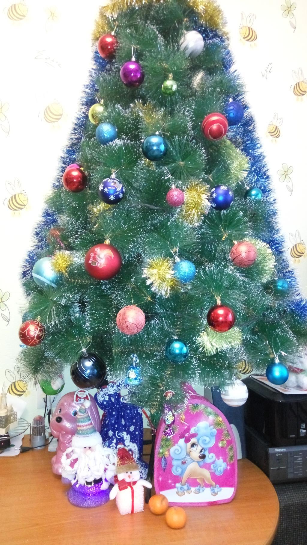 Юнтоловская наша ёлочка:). Блиц: новогодняя елка