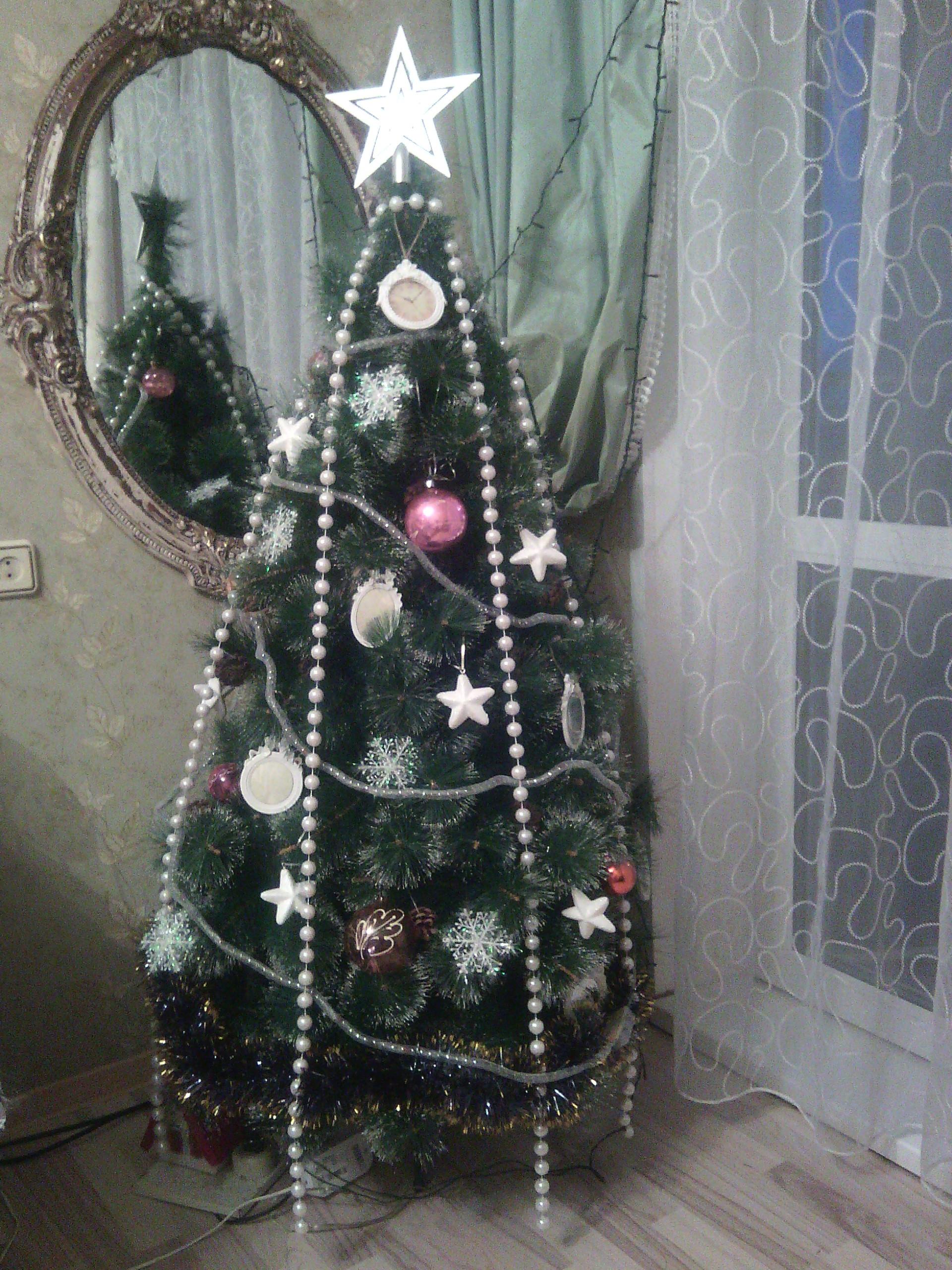 Елка в бусы нарядилась!. Блиц: новогодняя елка