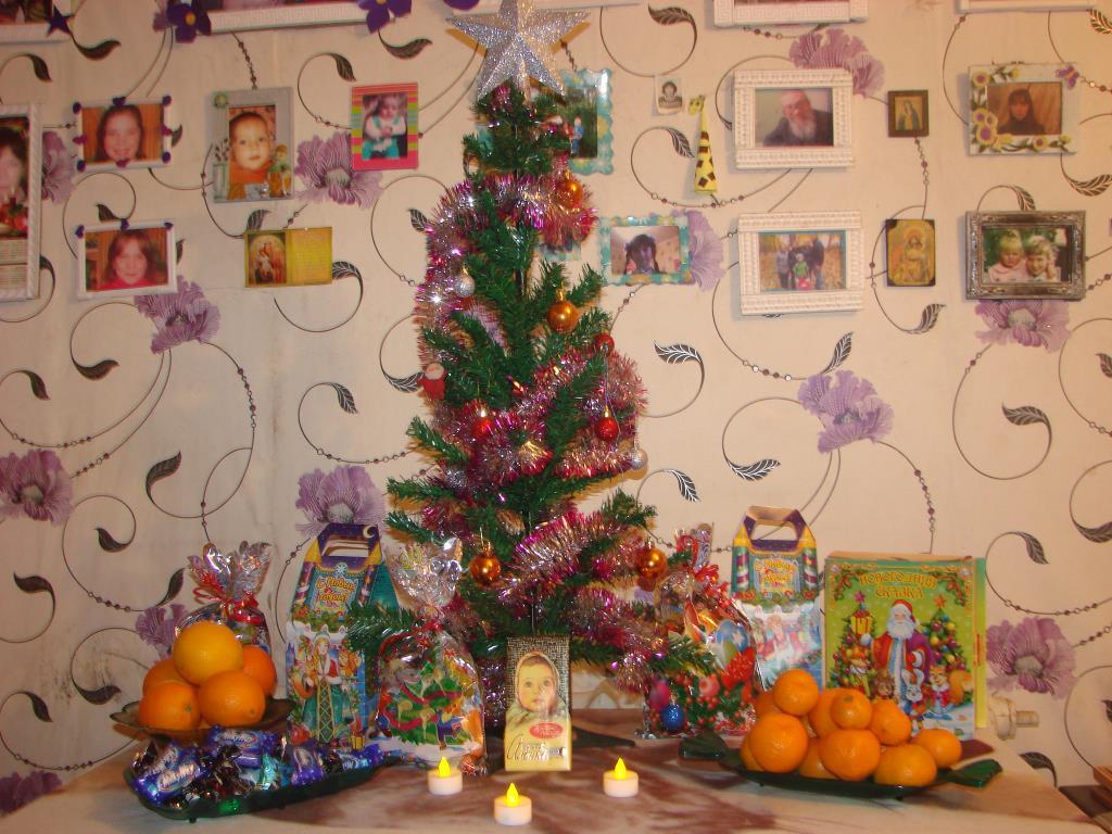 К новому году готова !. Блиц: новогодняя елка