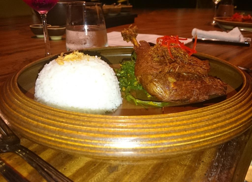 Утка по-балийски. Блиц: мясное блюдо