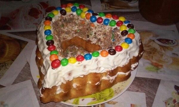 Торт ( сердце для любимых). Блиц: сердечки