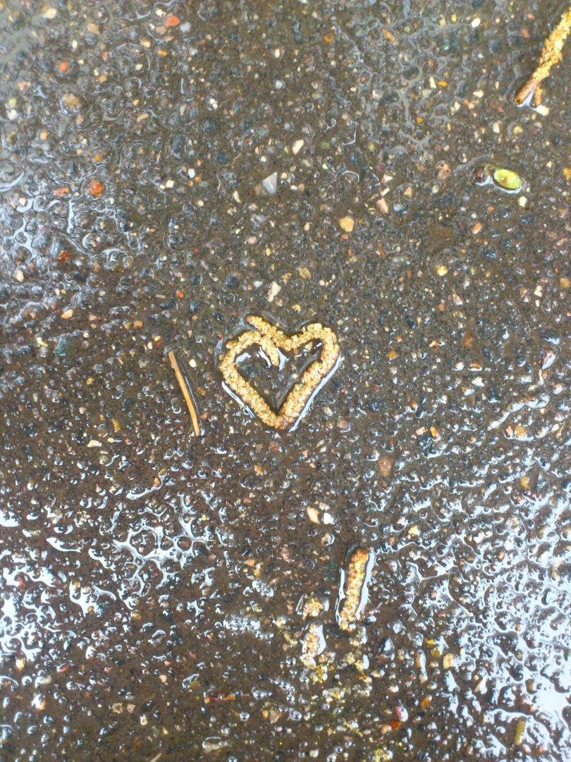 Любовь везде.... Блиц: сердечки