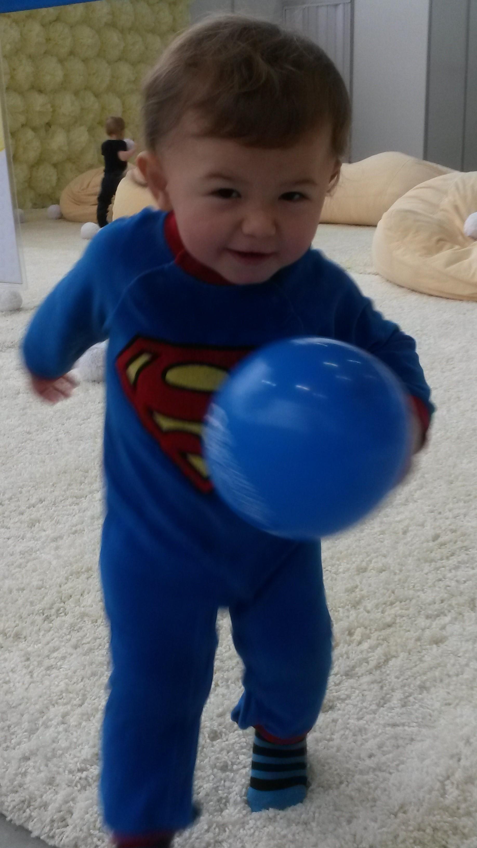 Супермен летит на помощь!. Я и мой герой