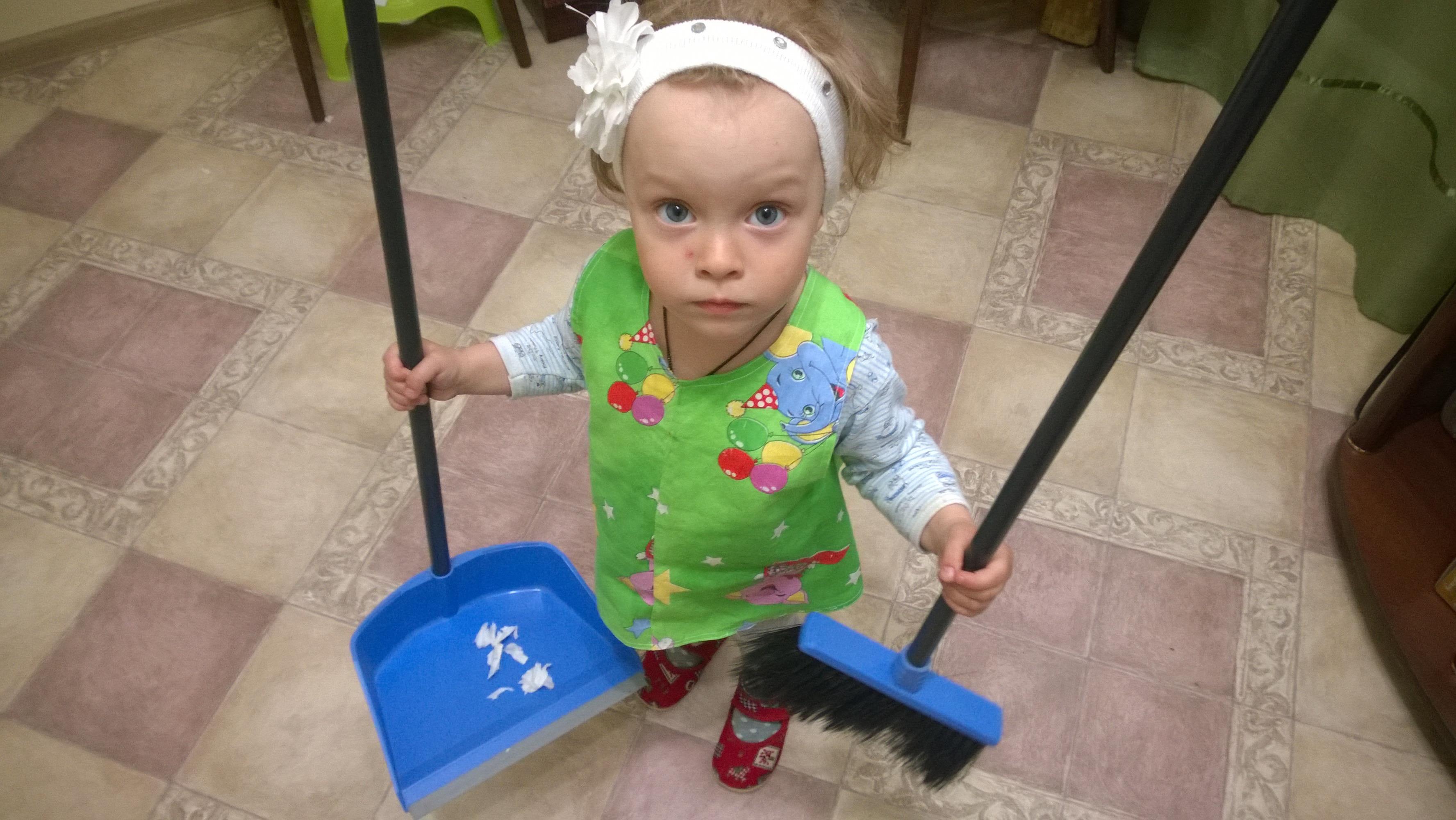 Маленькая помощница!!!. Дела житейские
