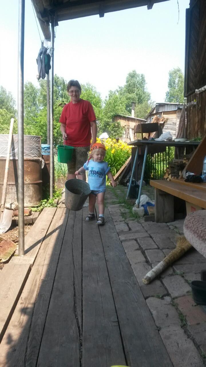 Баба, идём копать картошку!. Дела житейские