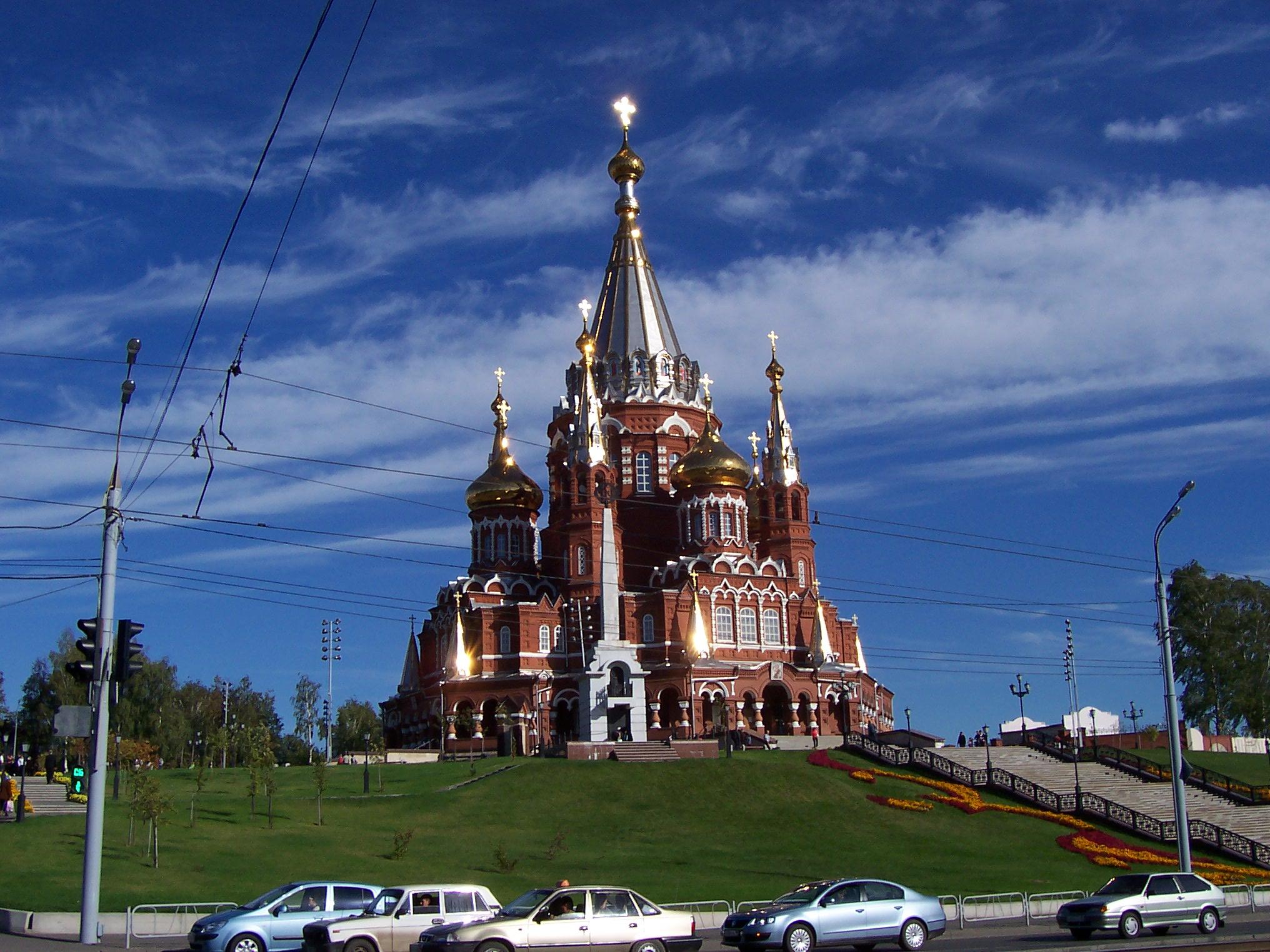 Свято-Михайловский собор. Ижевск. Блиц: купола
