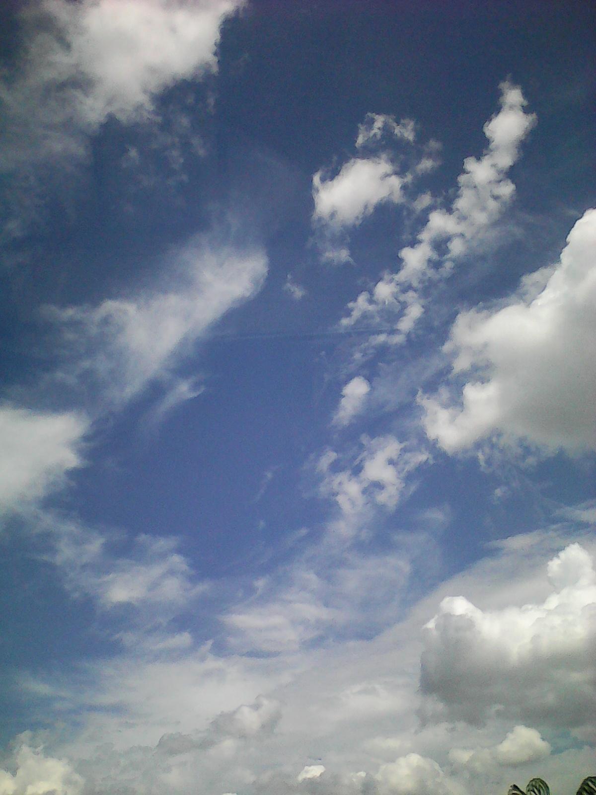 Облако надо мной. Блиц: облака