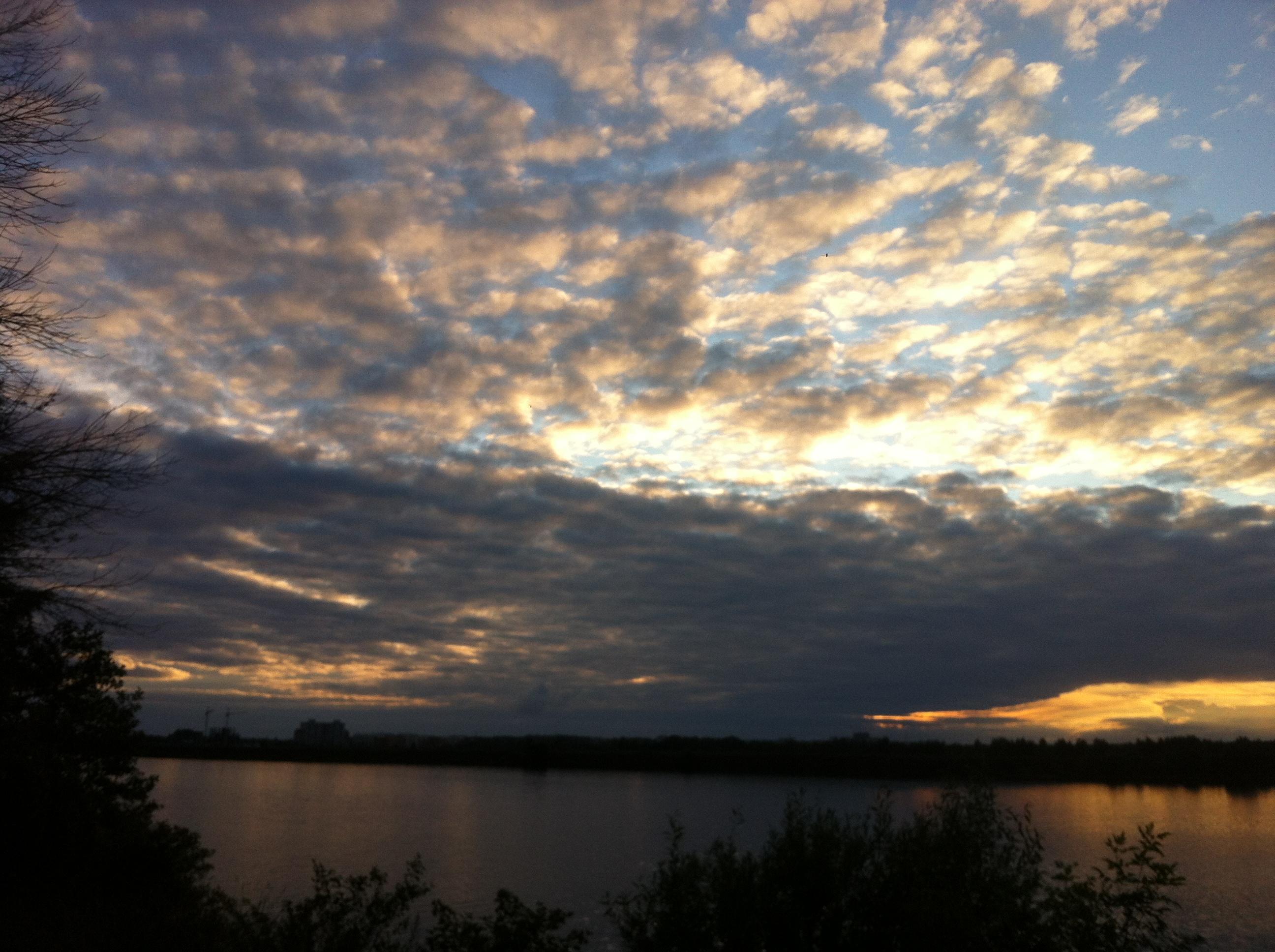 Небесная феерия. Блиц: облака
