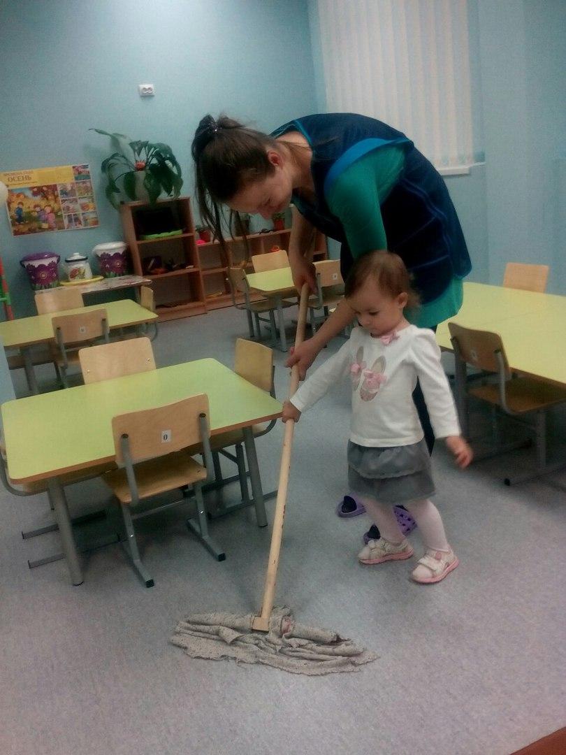 Помогает даже в детском саду. Дела житейские