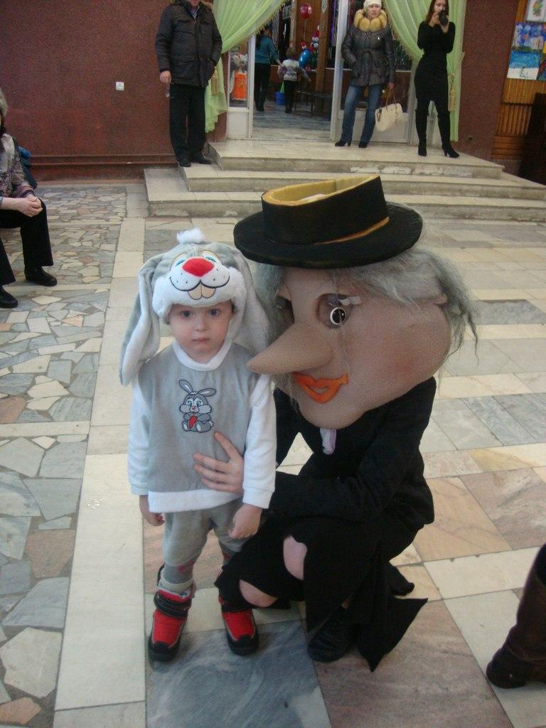 Мой зайчонок с Шапокляк)). Я и мой герой