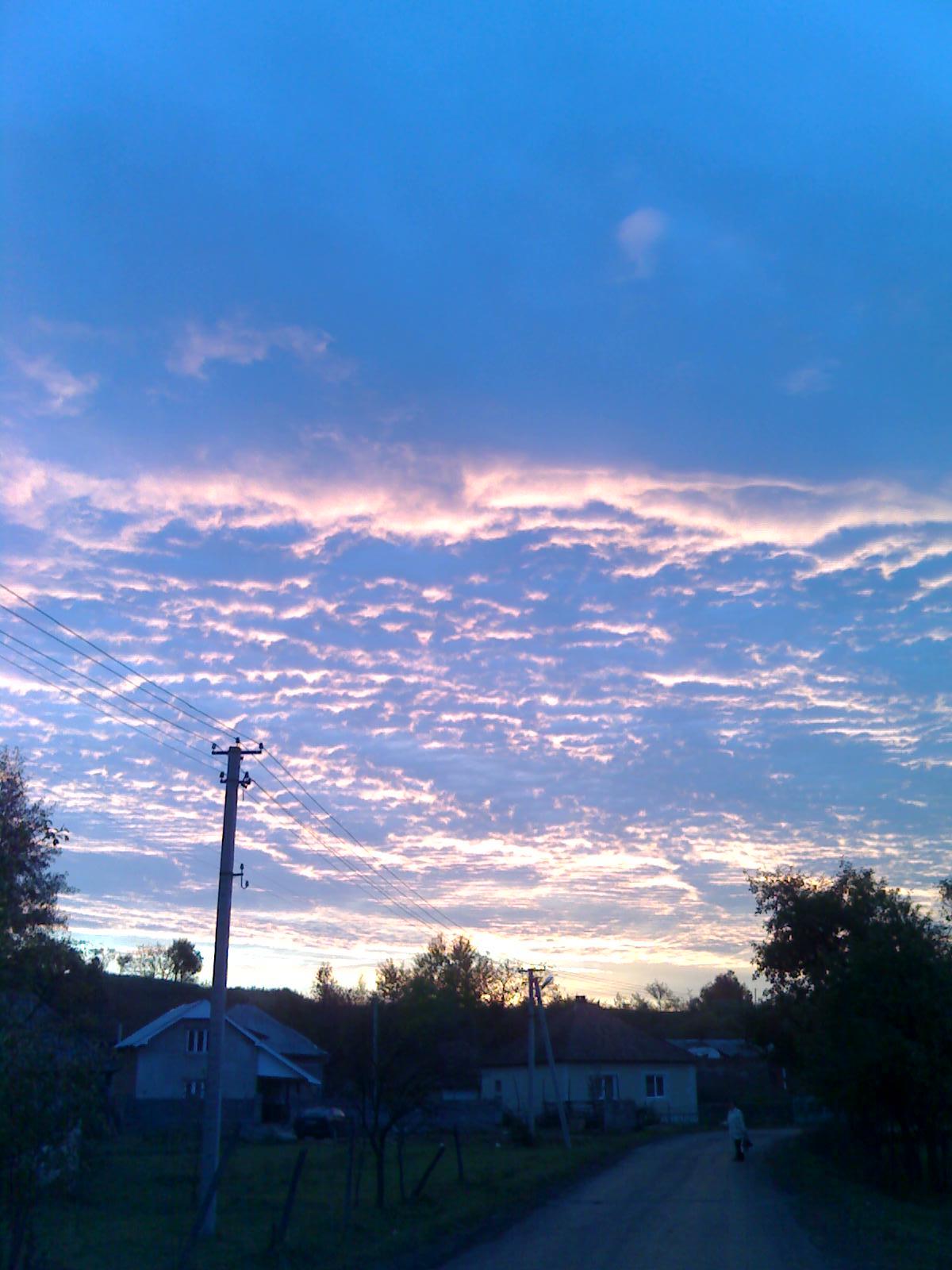 Море в небесах.... Блиц: облака