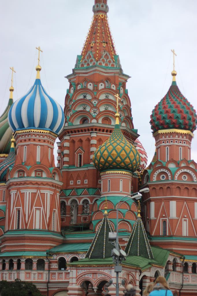 Храм Василия Блаженного. Блиц: купола