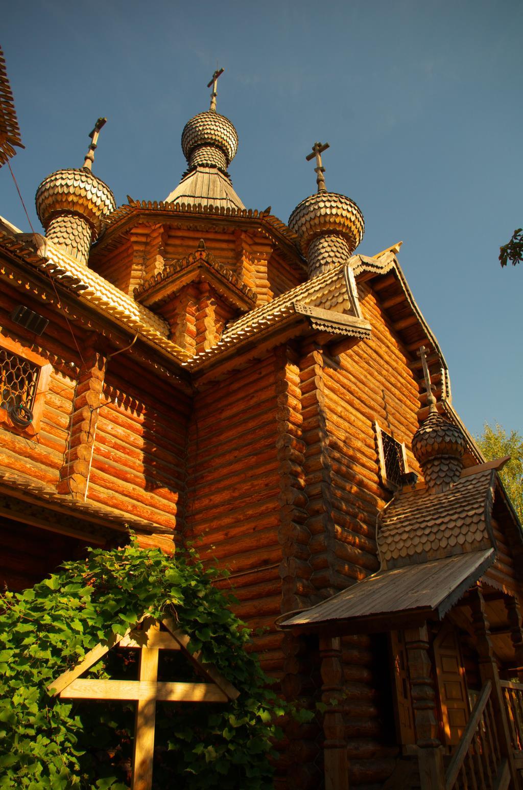 Храм в Коптево. Москва.. Блиц: купола