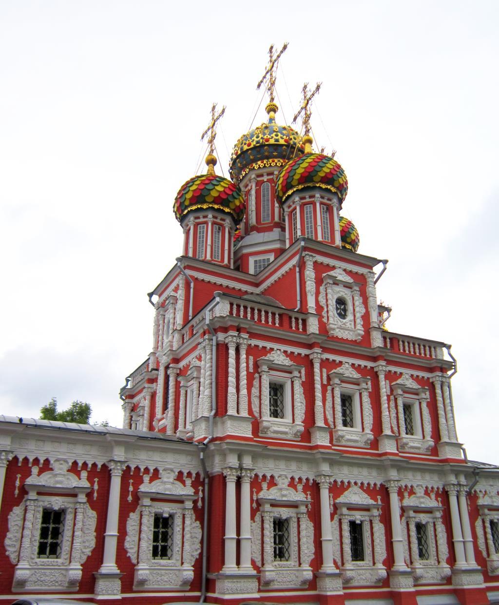Рождественская Строгановская церковь. Блиц: купола