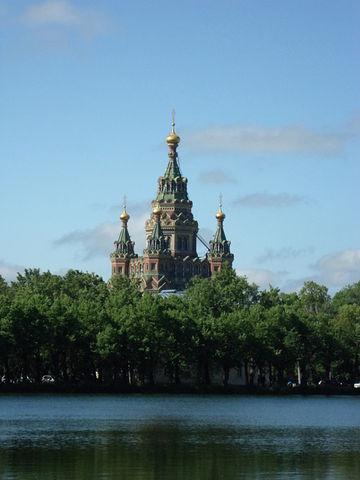 Собор Петра и Павла в Петергофе. Блиц: купола