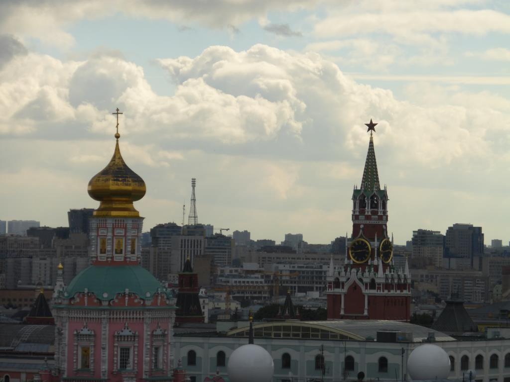 Богоявленский монастырь в Москве. Блиц: купола
