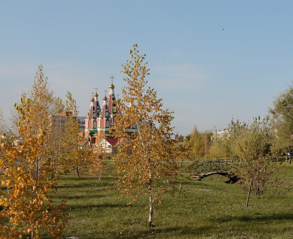 церковь Пантелемона целителя г.Отрадный.. Блиц: купола