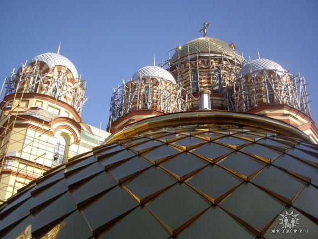 Новый Афон Абхазия. . Блиц: купола