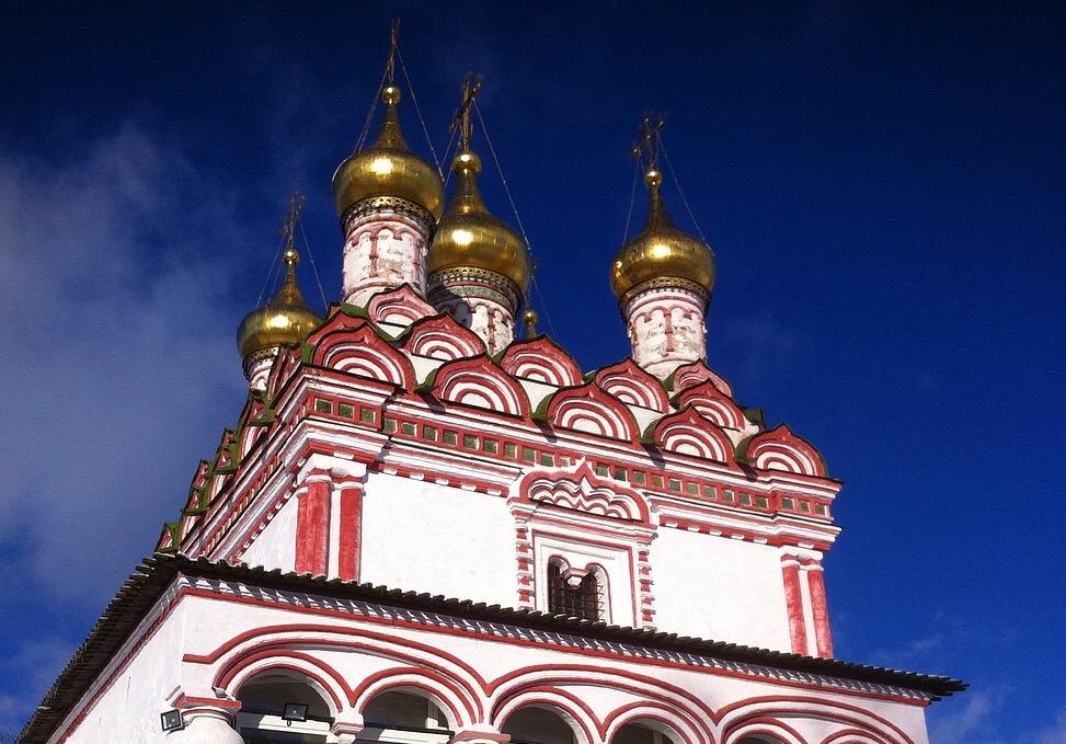 Иосифо-волоцкий мужской монастырь. Блиц: купола