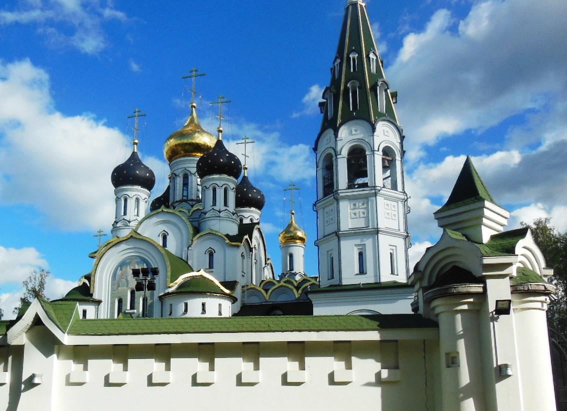 Княжье Озеро. Церковь Александра Невского.. Блиц: купола