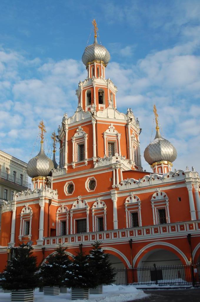 Церковь Знамения иконы Божией Матери на Шереметево. Блиц: купола