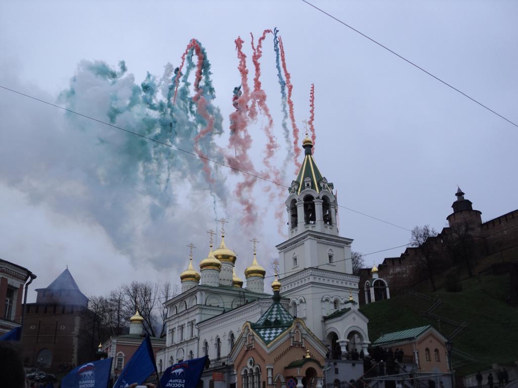 Нижний Новгород. Скоба.. Блиц: купола