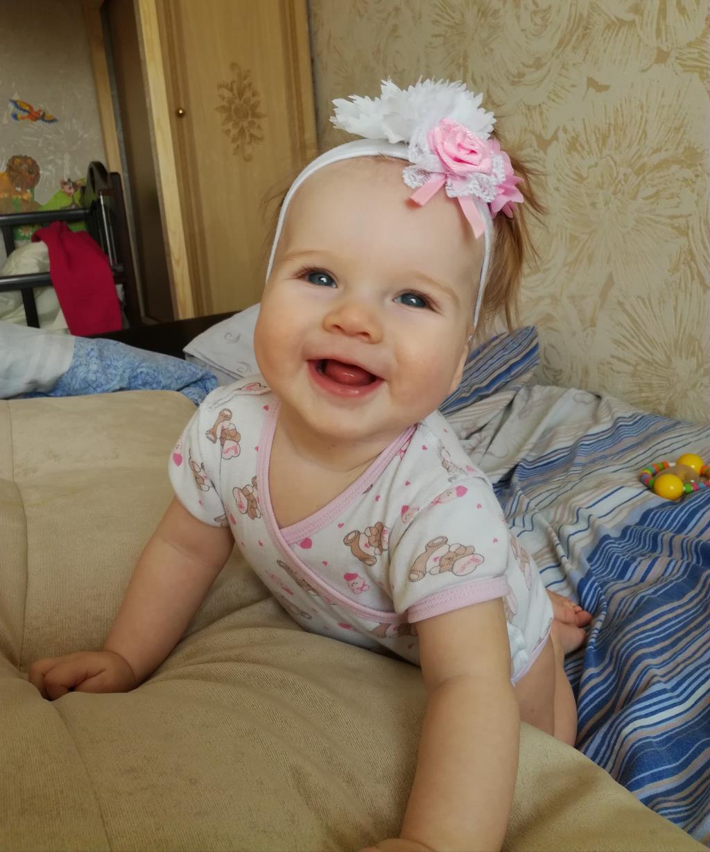 Малышка Виктория - такая милашка!. Само очарование
