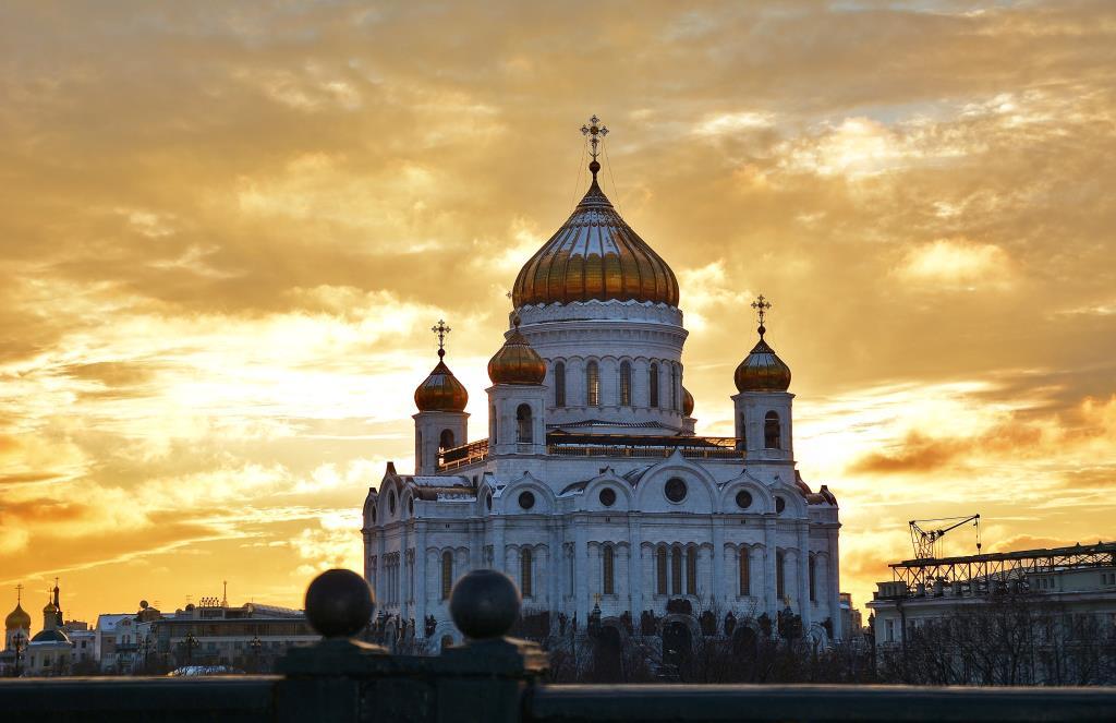 Храм Христа Спасителя. Блиц: купола