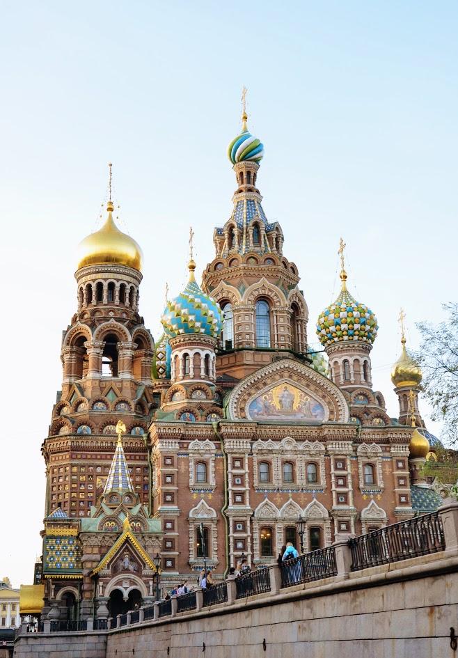 Питерский Спас на Крови. Блиц: купола
