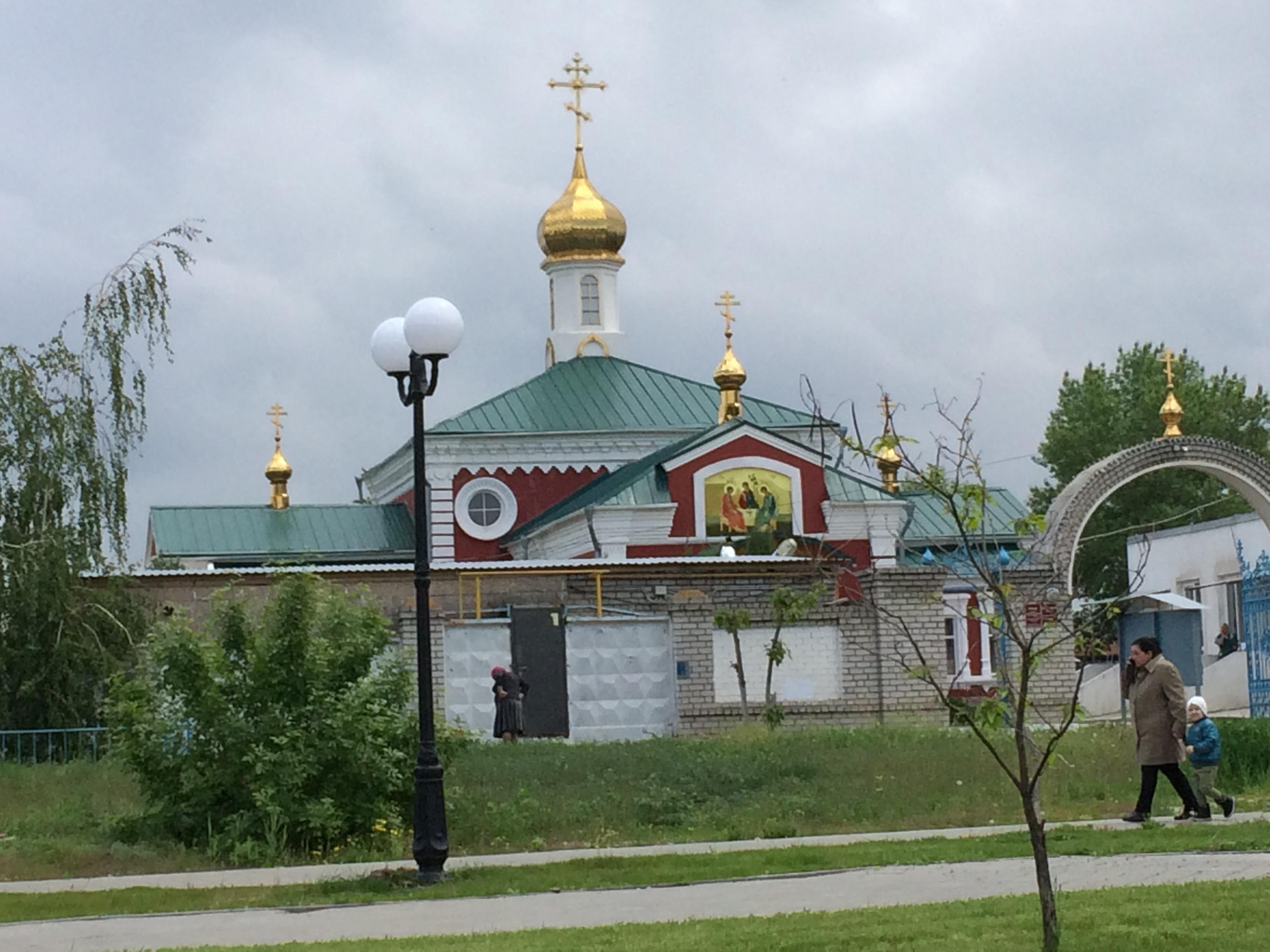 Волгоград. Блиц: купола