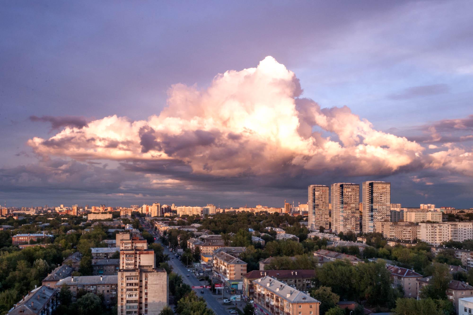 Облаковый полёт. Блиц: облака