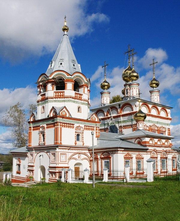 Богоявленская церковь. Блиц: купола