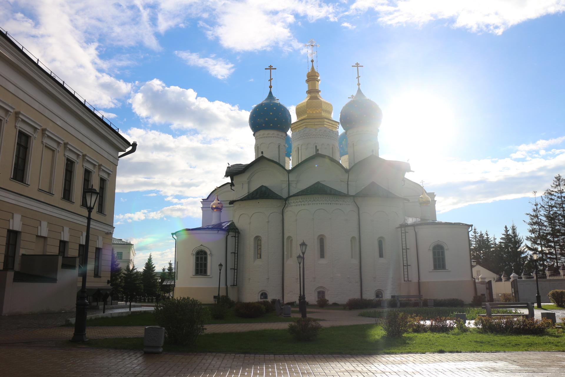 Благовещенский собор Казанского кремля. Блиц: купола