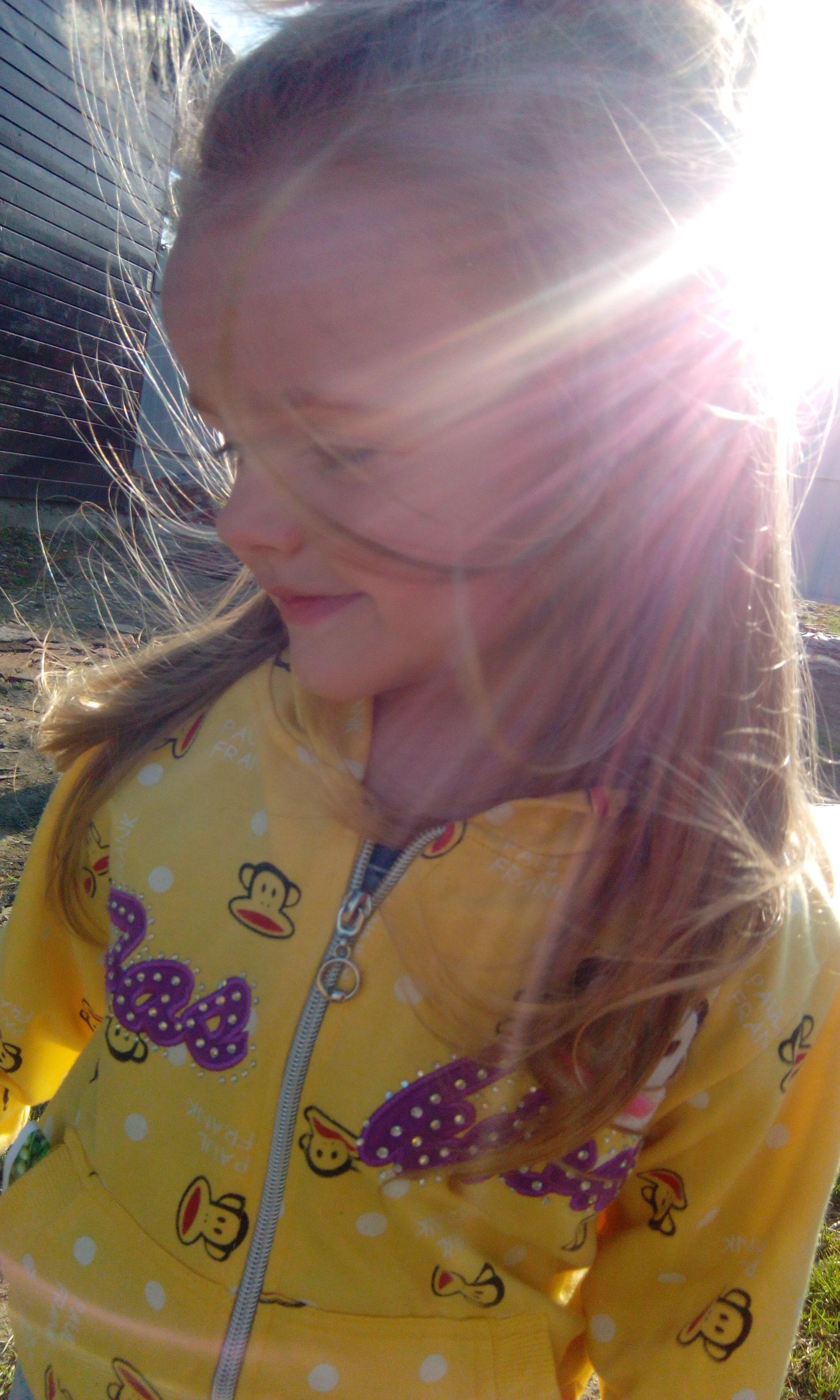 Очаровательная малышка Мария. Само очарование