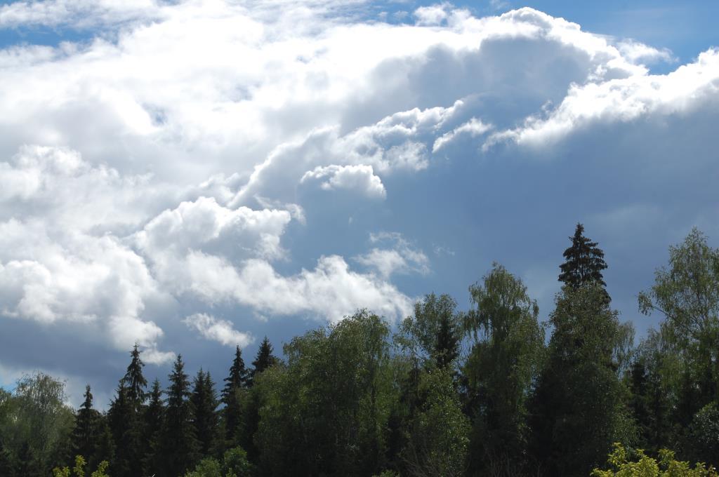 Небесные горы. Блиц: облака