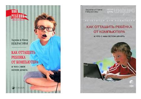 Как оттащить ребёнка от компьютера..Некрасовы З.иН.